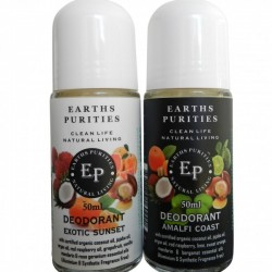 EARTHS PURITIES AMALFI DEODORANT ROLLON 50ML