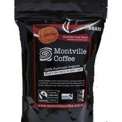 MONTVILLE COFFEE WOODFORD BLEND BEANS 1KG