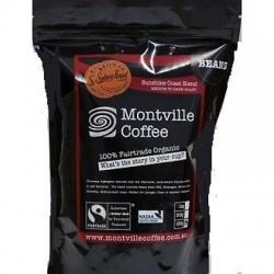 MONTVILLE COFFEE WOODFORD BLEND BEANS 1KG