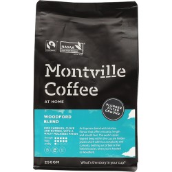 MONTVILLE COFFEE WOODFORD BLEND PLUNGER FILTER GROUND 250G