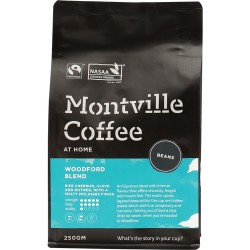 MONTVILLE COFFEE WOOFORD BLEND BEANS 250G