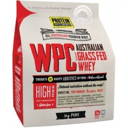 PROTEIN SUPPLIES AUSTRALIA WPC GRASS FED WHEY PURE 3KG