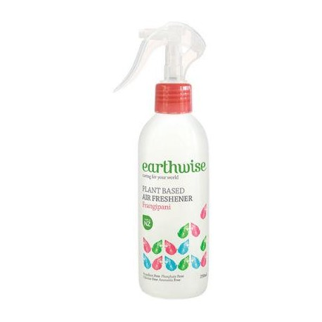 EARTHWISE AIR FRESHENER FRANGIPANI 250ML