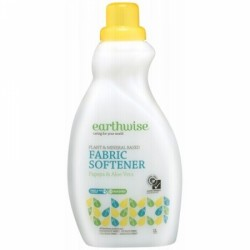 EARTHWISE FABRIC SOFTENER PAPAYA & ALOE 750ML