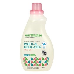 EARTHWISE WOOL & DELICATES WHITE LILY 750ML