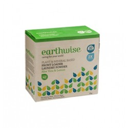 EARTHWISE LAUNDRY POWDER ALOE VERA & LEMON 1KG