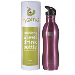 ONYA REUSABLE STAINLESS STEEL WATER BOTTLE 1000ML PINK