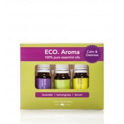 ECO AROMA CALM & DESTRESS 3X10ML