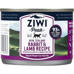 ZIWIPEAK NEW ZEALAND RABBIT & LAMB RECIPE 185G