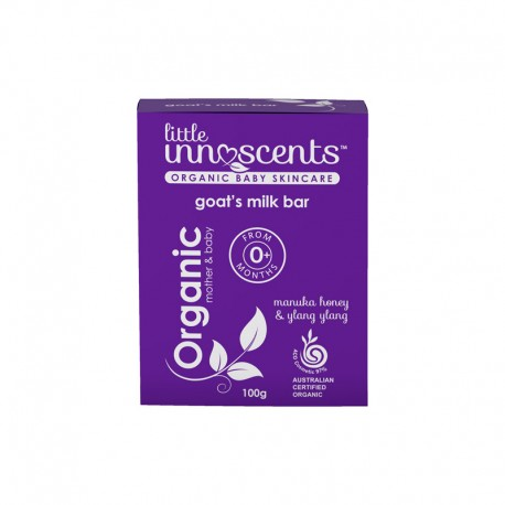 LITTLE INNOSCNETS GOATS MILK BAR 100G