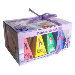 ENGLISH TEA SHOP CHRISTMAS TEA GIFT BOX ORNAMENT 24G