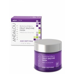 ANDALOU NATURALS BIOACTIVE 8 BERRY FRUIT ENZYME MASK AGE DEFYING 50G