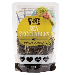 THE WHOLE FOODIES SEA VEGETABLES MIXED SEAWEED 170G