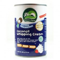 NATURES CHARM WHIPPING COCONUT CREAM 400G