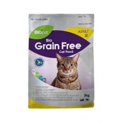 BIO PET CATFOOD GRAIN FREE 3KG