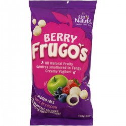 GO NATURAL BERRY FRUGOS 150G