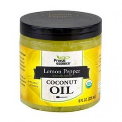 PRIMAL ESSENCE ORGANIC LEMON PEPPER COCONUT OIL 235ML