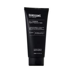 HANDSOME MENS SKINCARE 2 IN 1 SHAMPOO 200ML