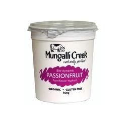 MUNGALLI CREEK PASSIONFRUIT YOGHURT 500G