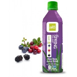 ALO SPRING MIXED BERRY ALOE VERA JUICE DRINK 500ML