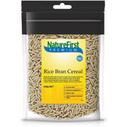 NATURE FIRST PREMIUM RICE BRAN CEREAL 400G