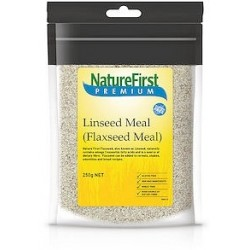 NATURE FIRST PREMIUM LINSEED MEAL (FLAXSEED MEAL) 250G