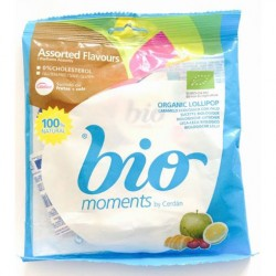 BIO MOMENTS LOLLIPOPS 48G
