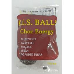 K.I.S CHOC ENERGY BALLS 75G
