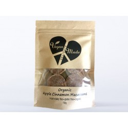 VEGAN MADE DELIGHTS ORGANIC APPLE CINNAMON MACAROONS 120G