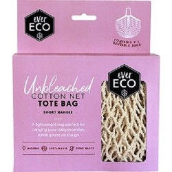 EVER ECO ORGANIC COTTON TOTE BAG SHORT HANDLE