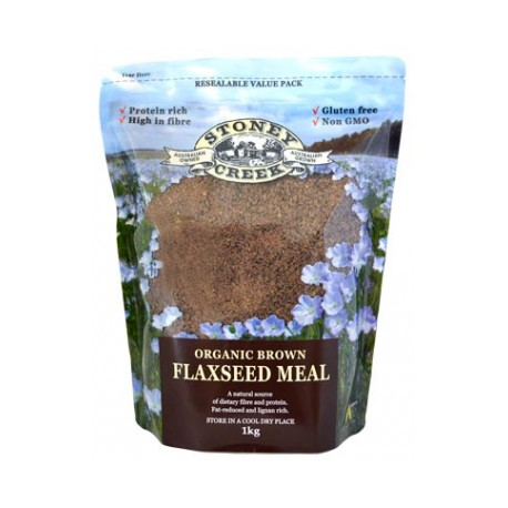 STONEY CREEK FLAXSEED MEAL 1KG