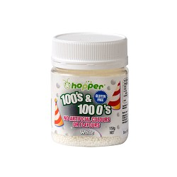 HOPPER 100'S & 1000'S WHITE 120G