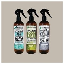 TRI NATURE CLEANING SPRAYS 500ML