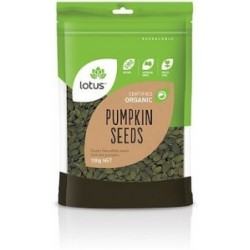 LOTUS RAW PUMPKIN SEEDS (PEPITAS) 125GT