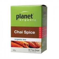PLANET ORGANIC CHAI SPICE 50 BAGS