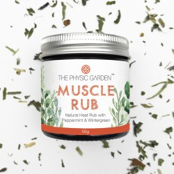 THE PHYSIC GARDEN MUSCLE RUB 50G