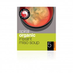 SPIRAL FOODS ORGANIC INSTANT MISO SOUP 5PK
