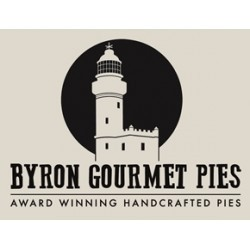 BYRON GOURMET PIES FINE DICED ORGANIC STEAK 220G