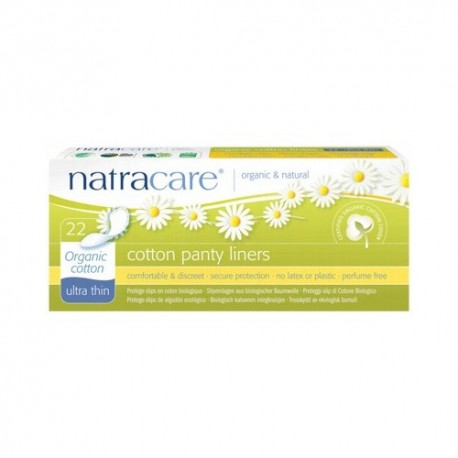 NATRACARE ULTRA THIN COTTON PANTY LINERS 22 PK