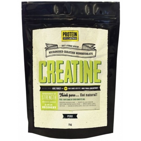 PROTEIN SUPPLIES AUSTRALIA CREATINE PURE 1KG
