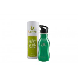 ONYA STAINLESS DRINK BOTTLE GREEN 500ML