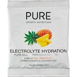PURE SPORTS HYDRATION ELECTROLYE HYDRATION PINEAPPLE 42G