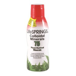 LIFESPRINGS COLLOIDAL MINERALS 75 500ML