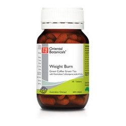 ORIENTAL BOTANICALS WEIGHT BURN 60 TABLETS