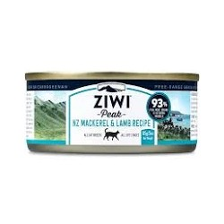 ZIWI PEAK CAT MACKEREL LAMB RECIPE 85G