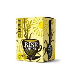 CLIPPER ORGANIC RISE & SHINE TEA 20 BAGS