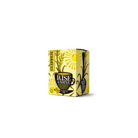 CLIPPER ORGANIC RISE & SHINE TEA 20 BAGS