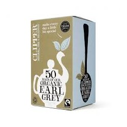 CLIPPER ORGANIC EARL GREY 20 BAGS