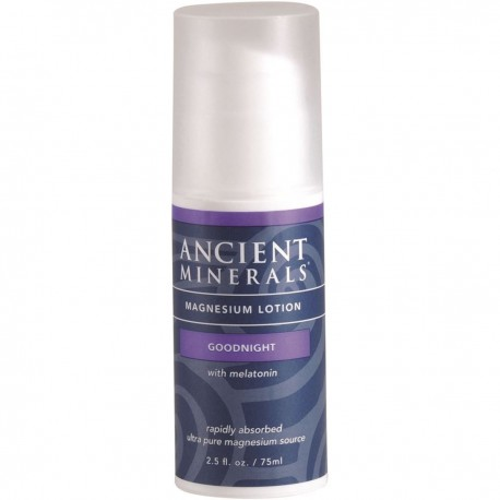 ANCIENT MINERALS MAGNESIUM LOTION GOODNIGHT WITH LEATONIN 75ML