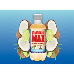 KOMBUCHA MAX COCONUT AND LIME 500ML